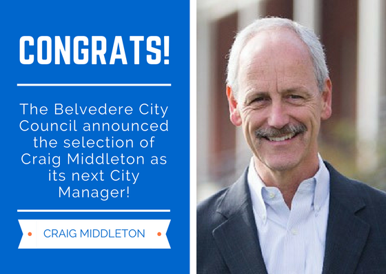 Belvedere City Council announces selection of next City Manager | City of Belvedere