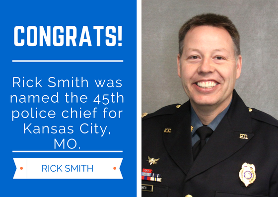 KC's new police chief is Major Rick Smith | FOX 4 Kansas City WDAF-TV