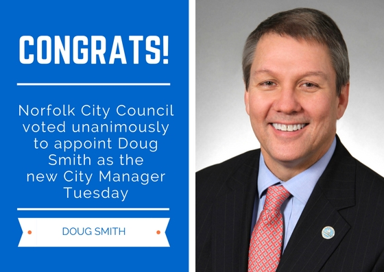 Norfolk council hires Doug Smith as city manager | Virginia Pilot