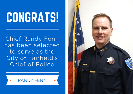 Mayor, Council Praise Selection of Fenn as Fairfield Police Chief | Daily Republic